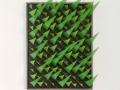 Permutation 2019 Stahl, Edelstahl lackiert 45 x 59 cm
